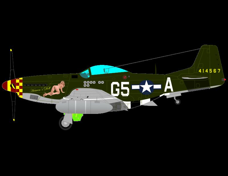 Clipart Mustang P 51 D