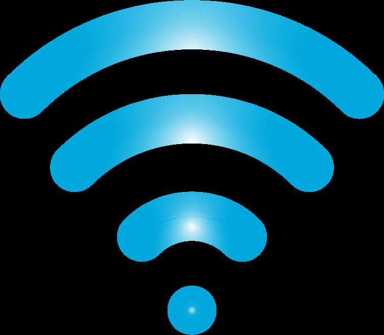 Clipart - Wireless Signal Icon Enhanced 4