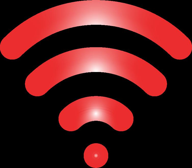 Clipart - Wireless Signal Icon Enhanced 5
