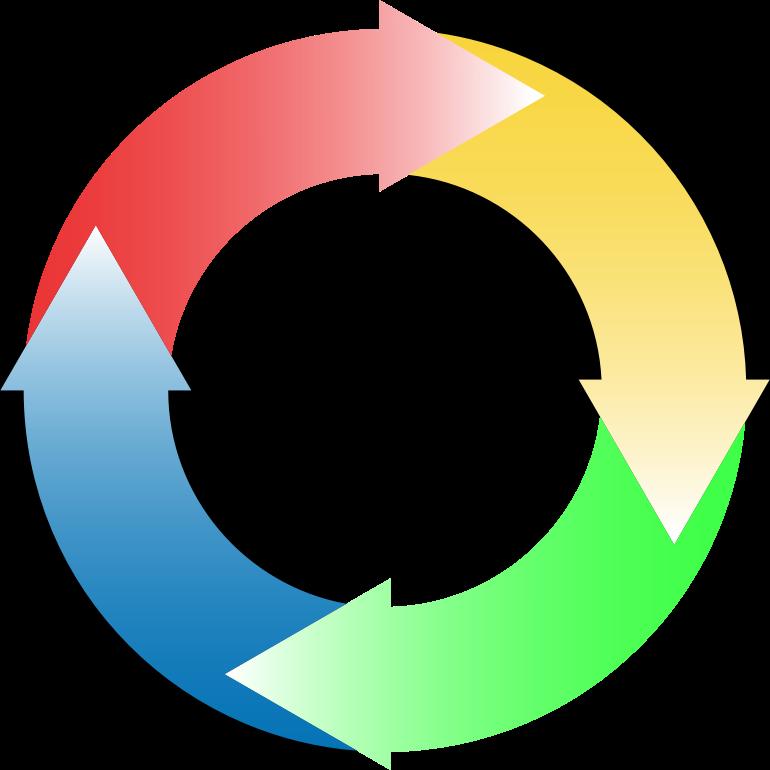 free clipart circular arrow - photo #26