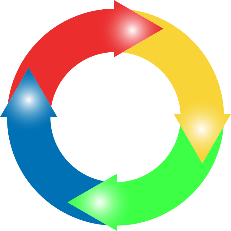 clipart arrows in a circle - photo #36