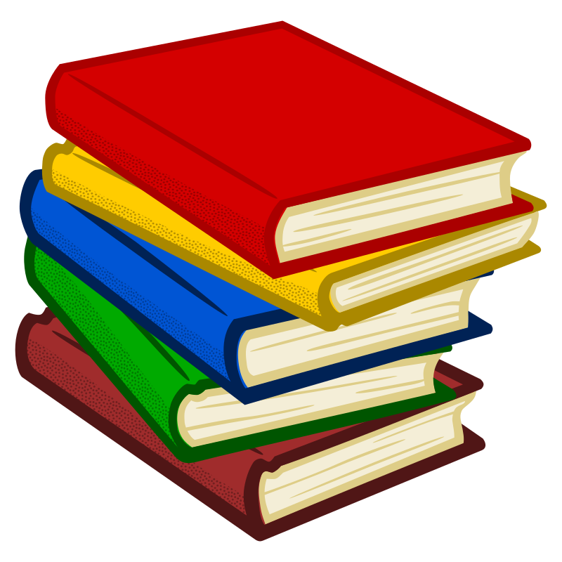 Clipart Books Coloured