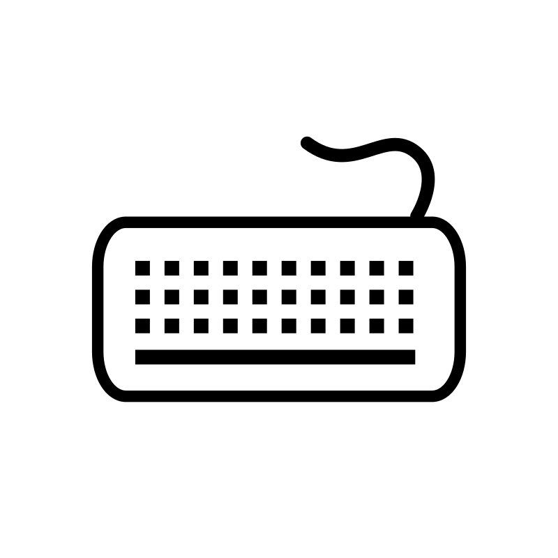 Keyboard 1 icon by Anonymous