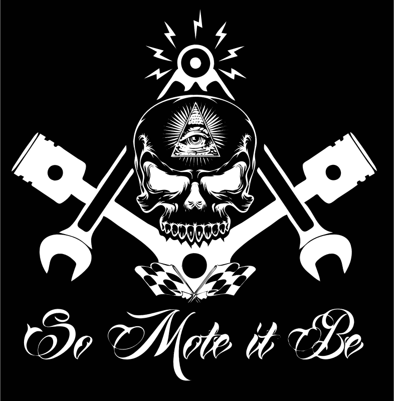 clipart - freemason widows sons masonic hotrod logo