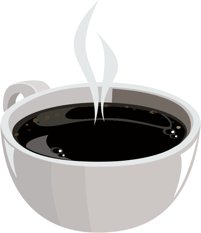 Clipart - Hot Cup Of Coffee