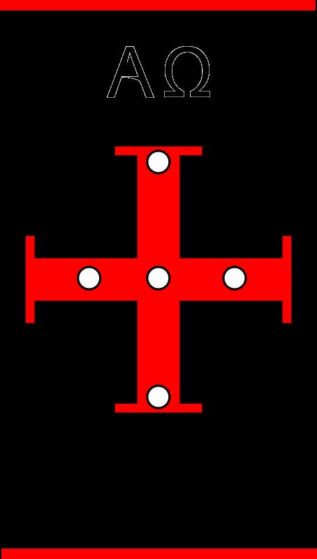 Clipart - Paschal candle symbols 2016