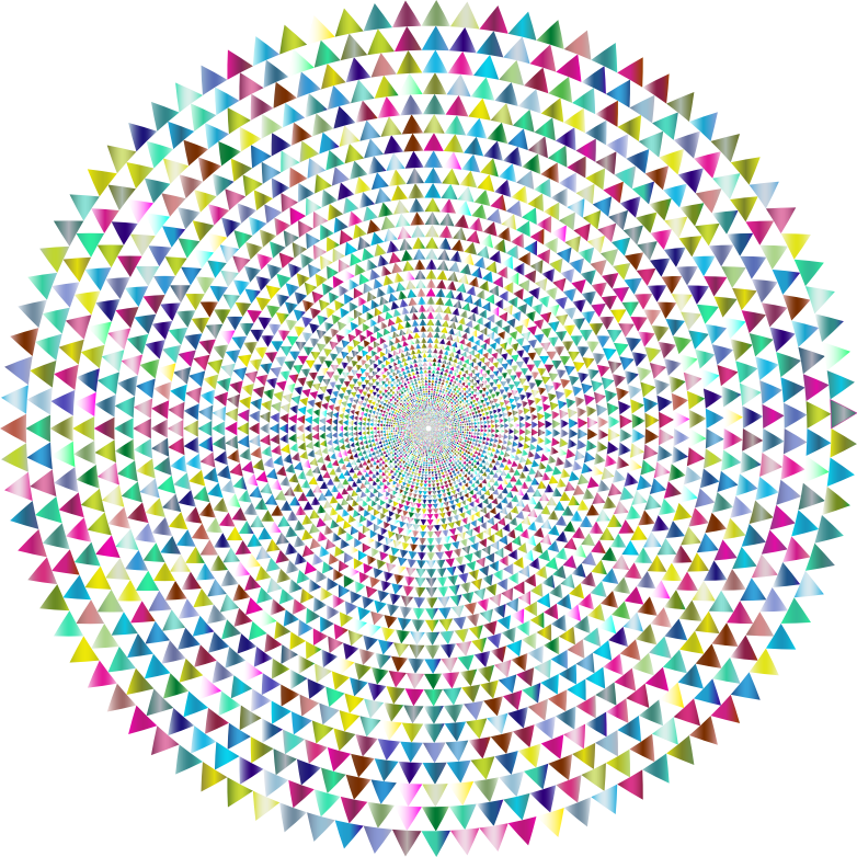 Clipart - Prismatic Pythagorean Vortex 4