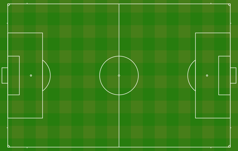Clipart - Football pitch