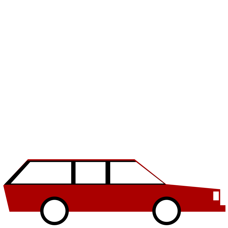 Clipart Station Wagon Estate Car
