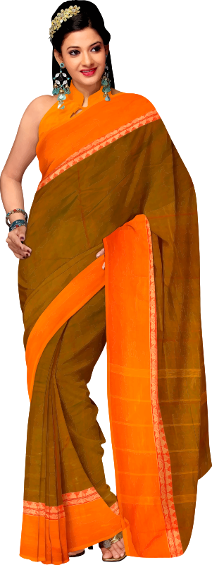 Clipart - Woman in saree 4