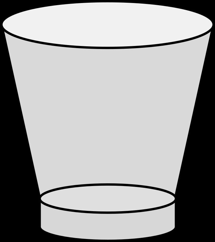 Clipart - Empty Shot Glass