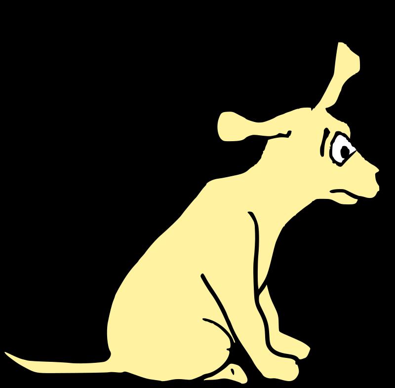 Clipart - Agitated Dog 2