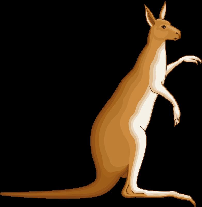 Clipart - Kangaroo 4