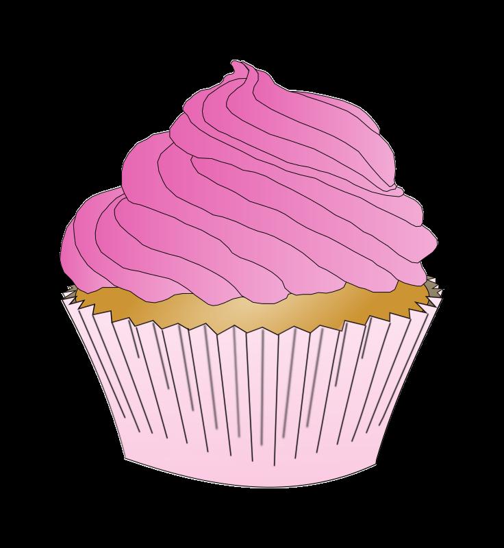 Vanilla Cupcake Clip Art, Vector Vanilla Cupcake - 28 ...