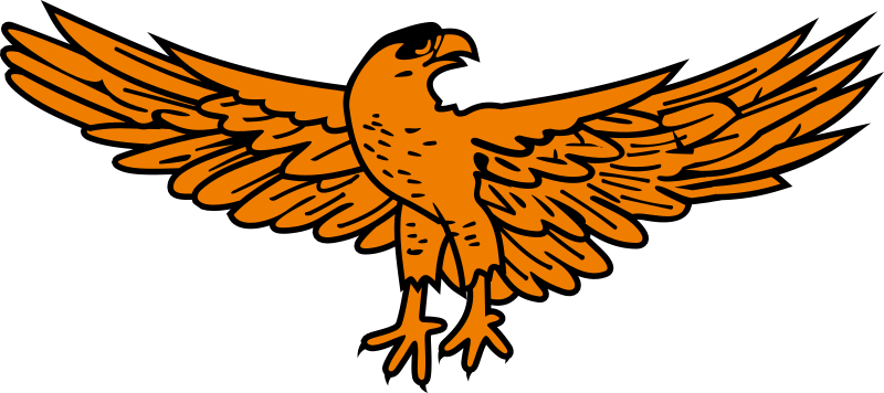 Clipart - Golden eagle