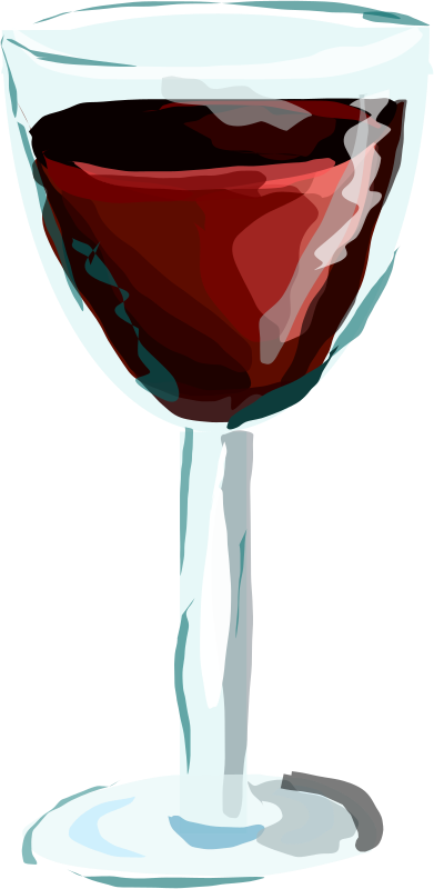 Red Wine Glass by Degri - glass of red wine