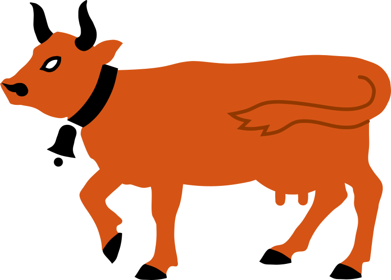 Clipart - Cow 2