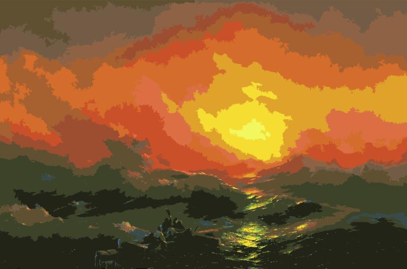 Clipart - Aivazovsky, Ivan - The Ninth Wave