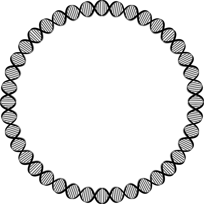 Clipart Dna Circle Medium
