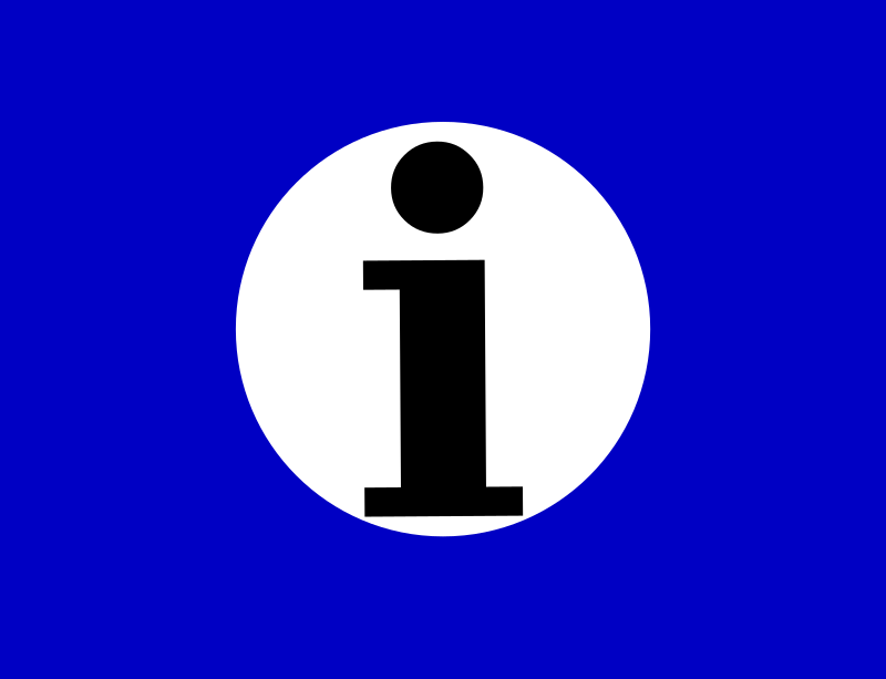 information icon by Anonymous - from the Old OCAL database