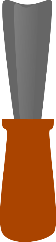 Chisel by Machovka - Round chisel.