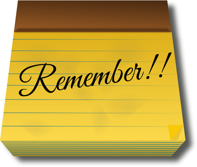 Clipart - Remember Remixed