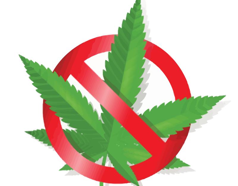 Clipart - No Cannabis