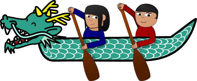 Clipart - Dragon Boat