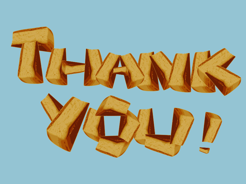Clipart - cake-thank you !