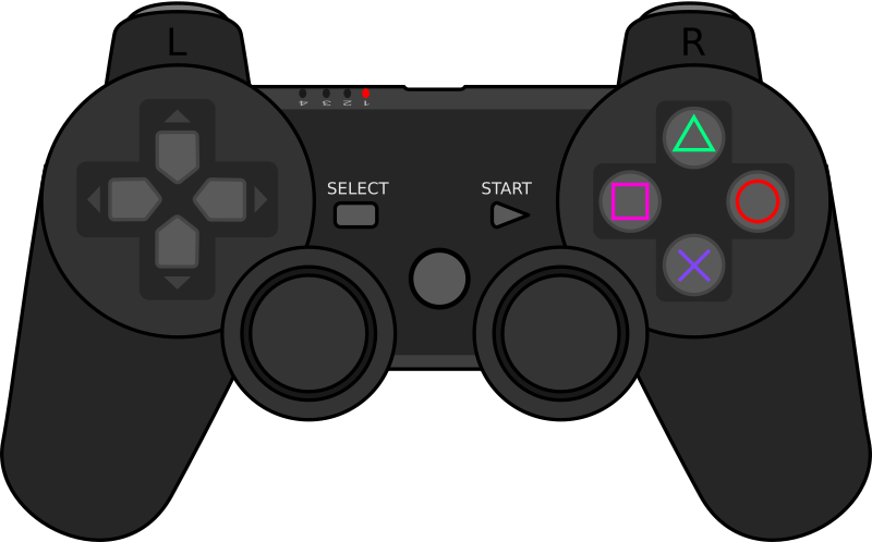 Playstation3 Gamepad by grumbel