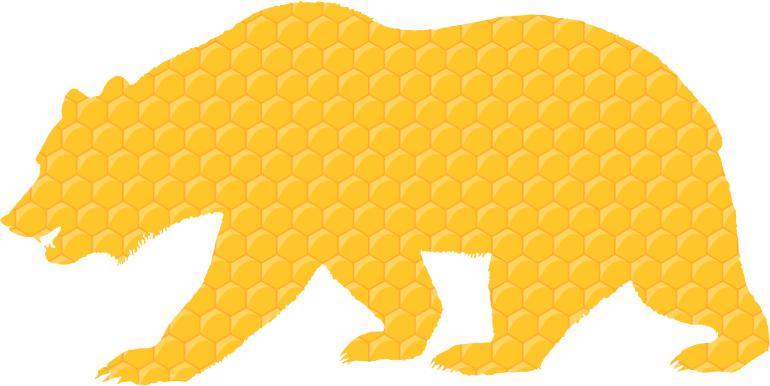 Clipart - Honeycomb Bear