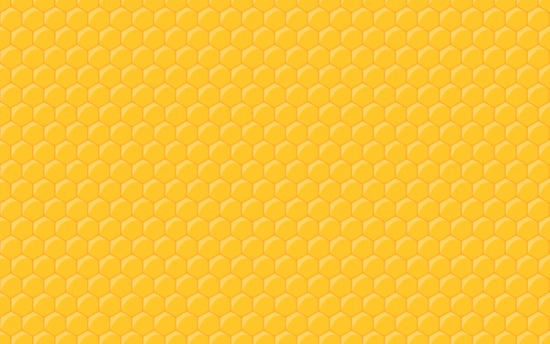 Clipart - Seamless Honeycomb Pattern