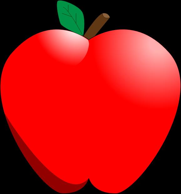 Cartoon Apple by magiaaron - A simple cartoon apple with ...