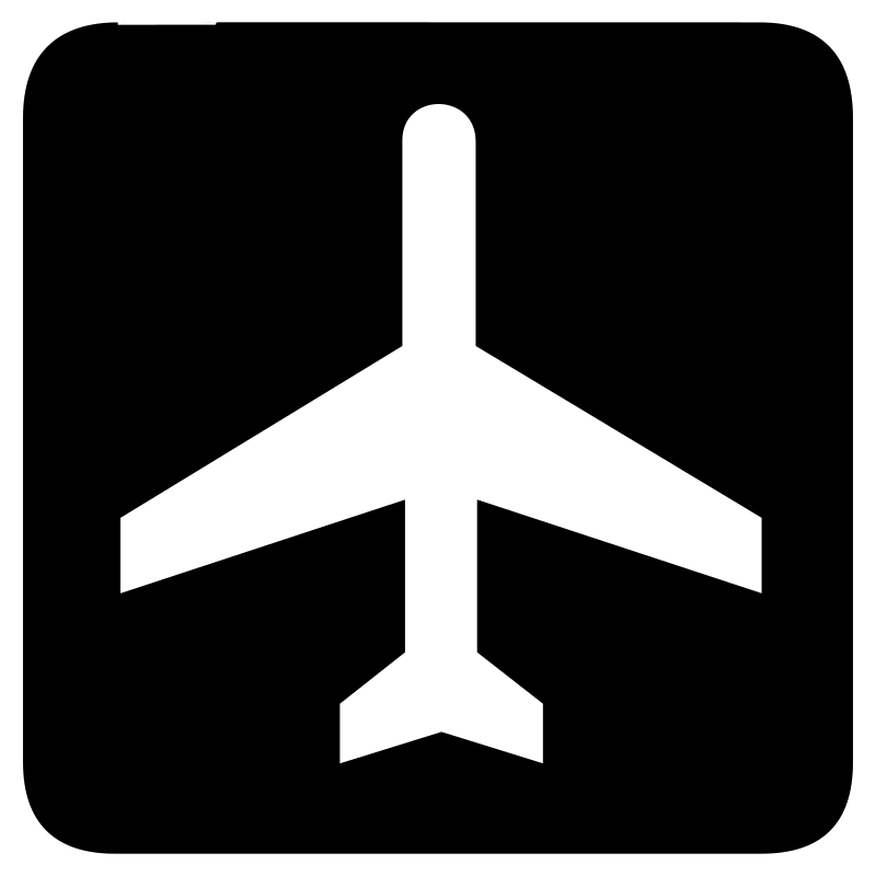 aiga air transportation bg by jean_victor_balin - Set of international airport symbols.