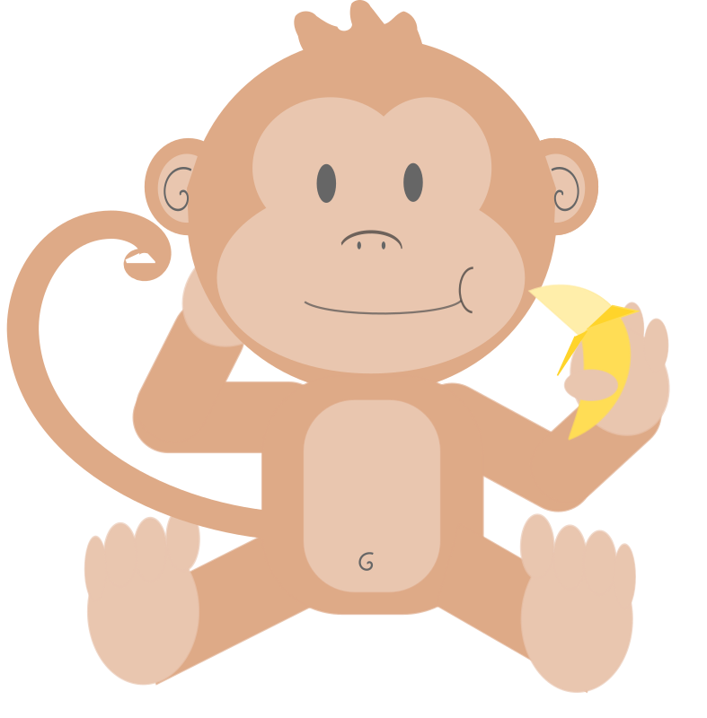 monkey cartoon wallpaper - photo #33