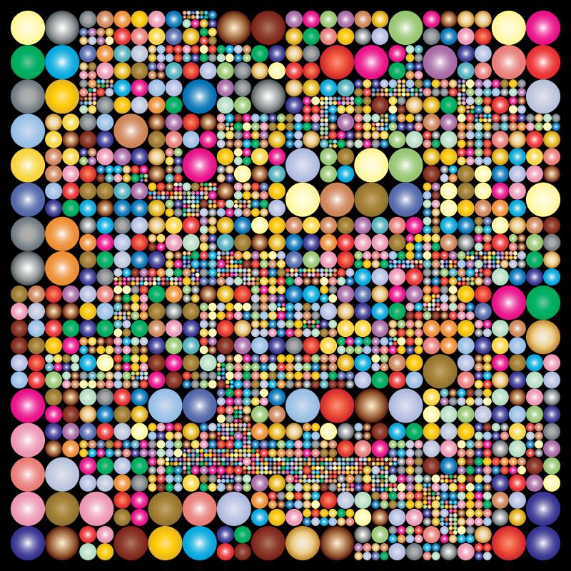Clipart Abstract Circle Design 2