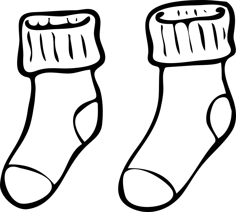 Architetto -- Calzettoni by Anonymous - Pair of socks by Francesco 'Architetto' Rollandin.