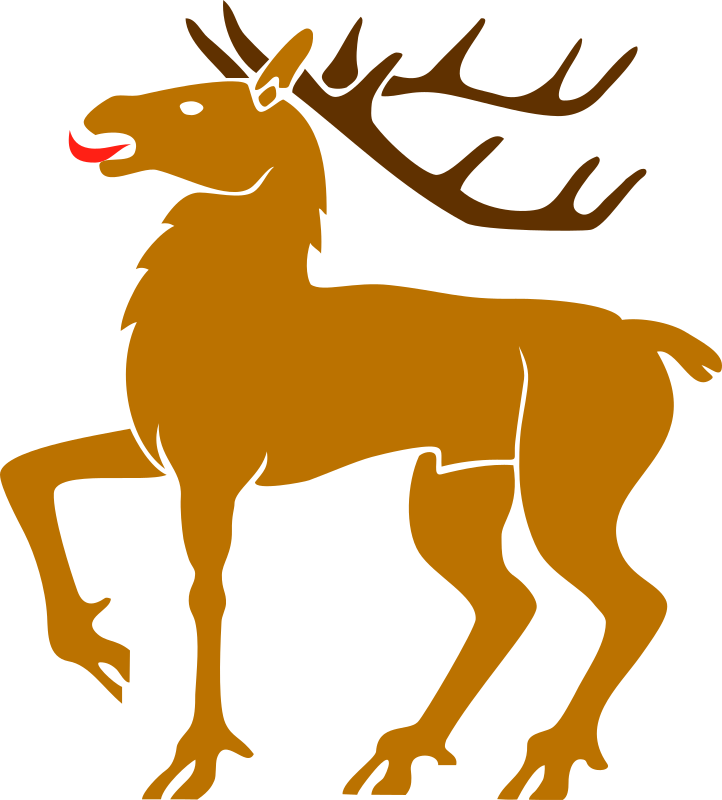 Clipart - Stag 3