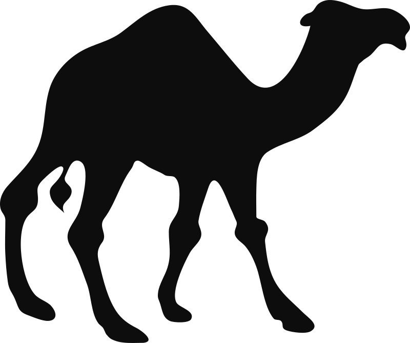 Architetto -- Camello by francesco_rollandin - Camel silhouette by Francesco 'Architetto' Rollandin.