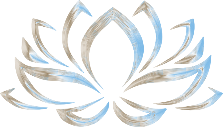 Clipart freshenized lotus flower no background for Transparent top design