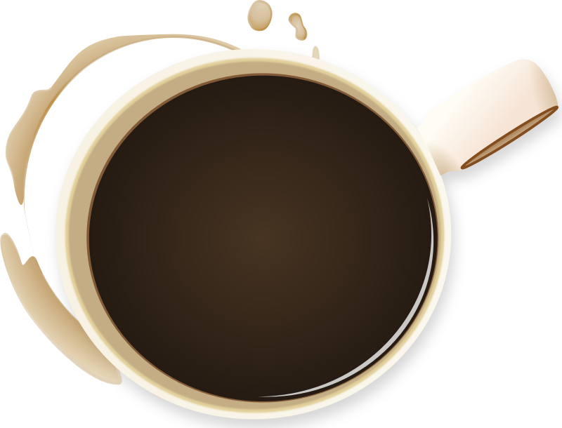 coffee cup and stained by BenBois