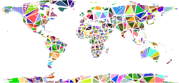 Pdf map of continents pdf usa states map collections pdf map of continents with low poly shattered world map no background on europa also people gumiabroncs Choice Image