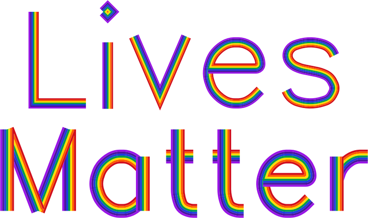clipart - Lives Matter No Background