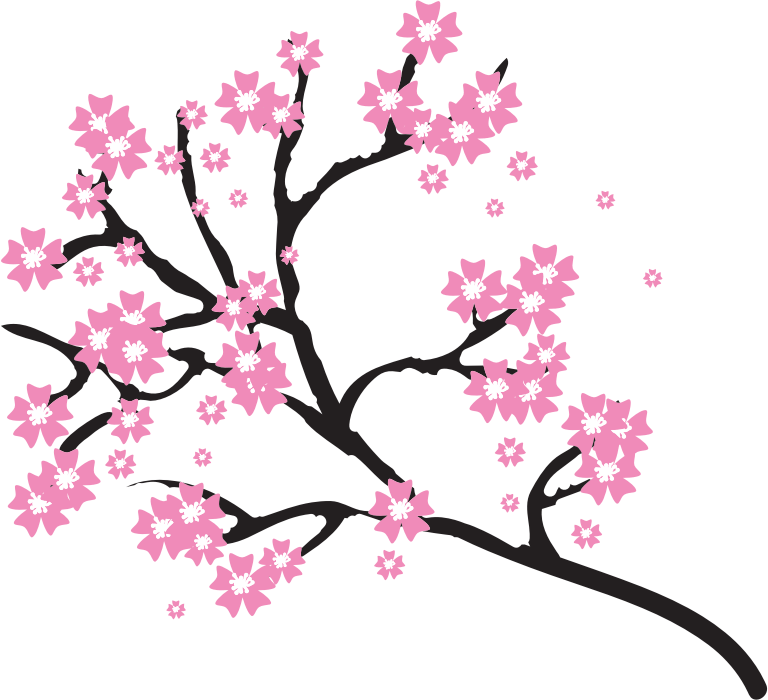 Clipart - Cherry Blossoms