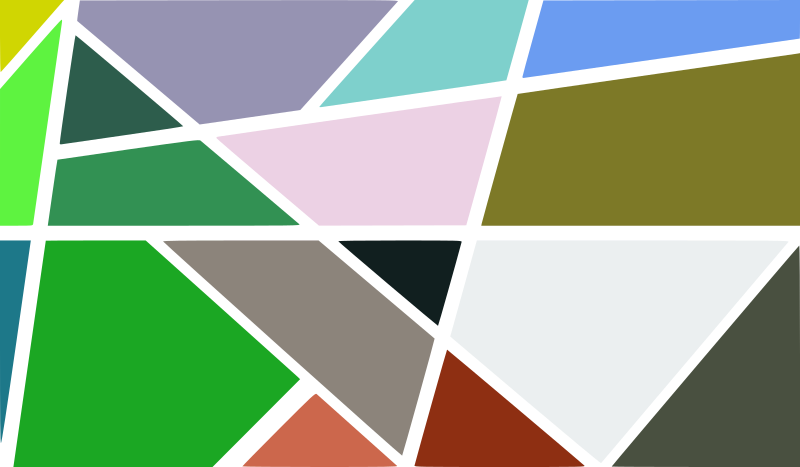 Clipart - Abstract geometric background