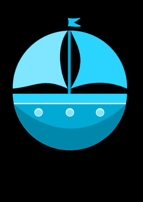 Clipart - Cartoon ship