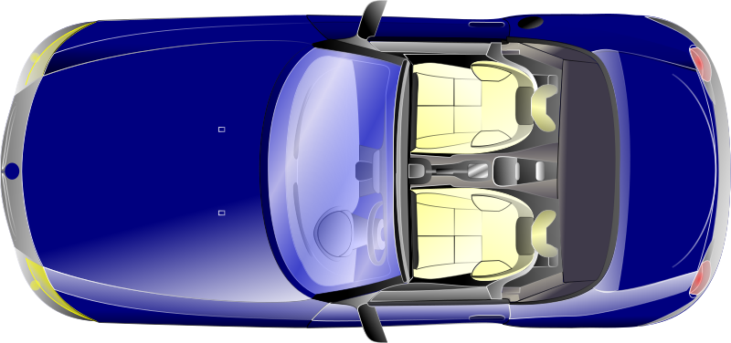 BMW Z4 top view by Anonymous - A BMW Z4 viewed from the top. By Aubanel Monnier. from 0.18 OCAL database.
