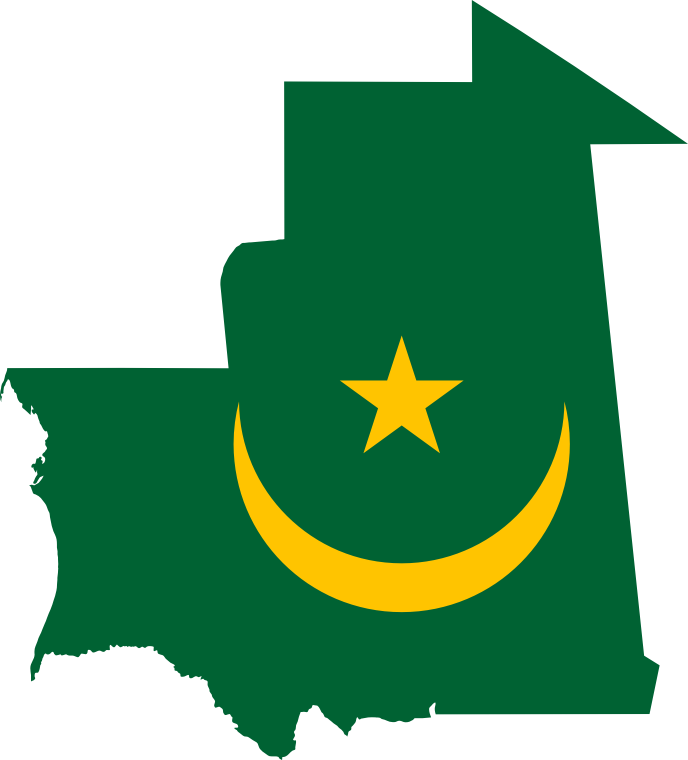 map of africa with Mauritania Flag Map on 26560360822 as well 299663569 moreover 3609949385 furthermore 4797037868 additionally 8469850639.