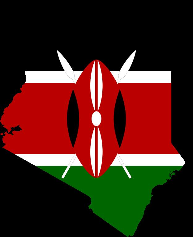 Kenyan People And Culture Clipart - Kenya Flag M...