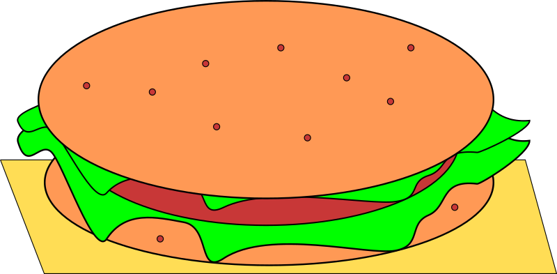 hamburger by Machovka - A hamburger.